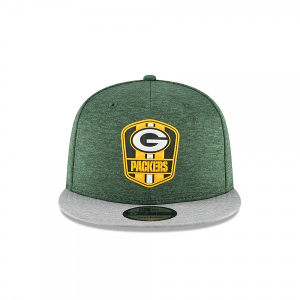 NFL Sideline 9Fifty Snapback Cap Green Bay Packers AWAY