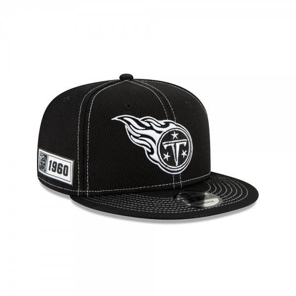 NFL 2019 Sideline 9Fifty Snapback Cap OSFM Away Tennesse Titans