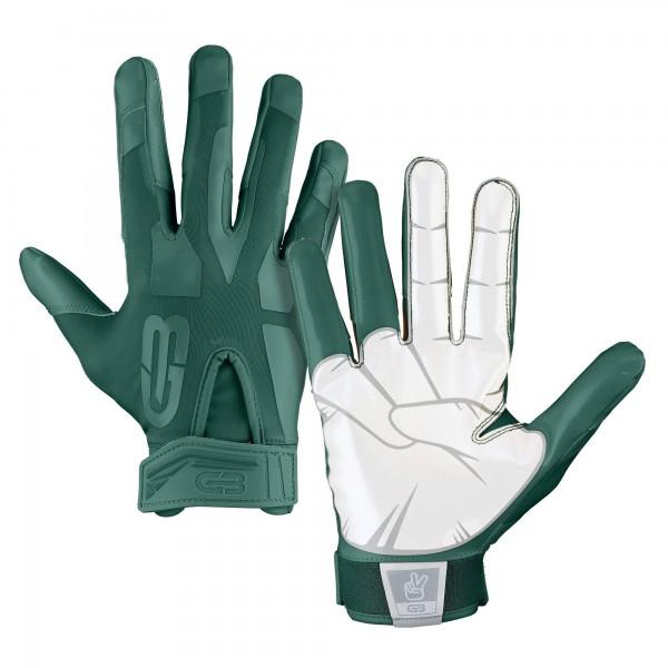 Grip Boost Peace Football Glove Green