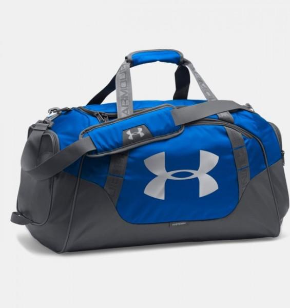 UA Medium Hustle Duffel Bag Royal Blau