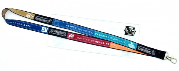 London International Game Day Series Lanyard All Teams