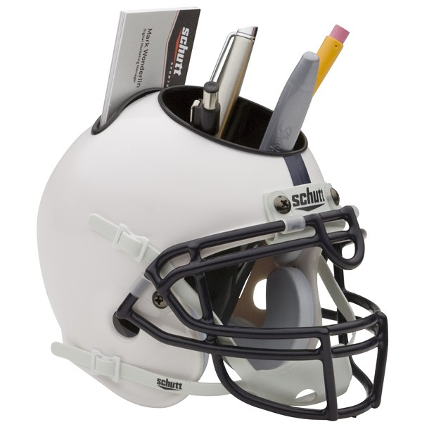Schutt Mini Helmet Desk Caddy Penn State Nittany Lions