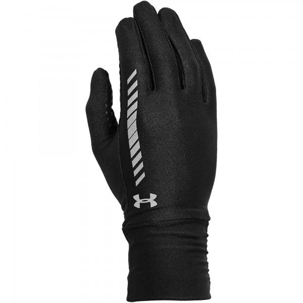 UA Women's Layered Up Liner Glove Black L/XL