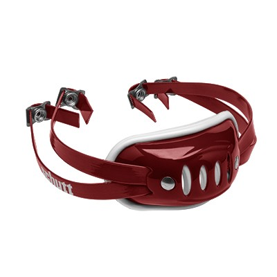 SC 4 Hard Cup Chinstrap Cardinal-Red Medium