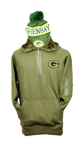 CAMO COLLECTION Hoody Green Bay Packers Small