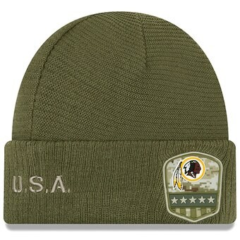 New Era OnField 19 STS Knit Hat Washington Redskins