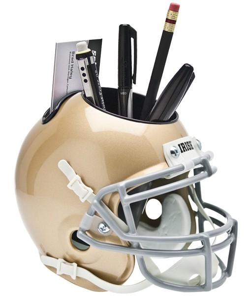 Schutt Mini Helmet Desk Caddy Notre Dame