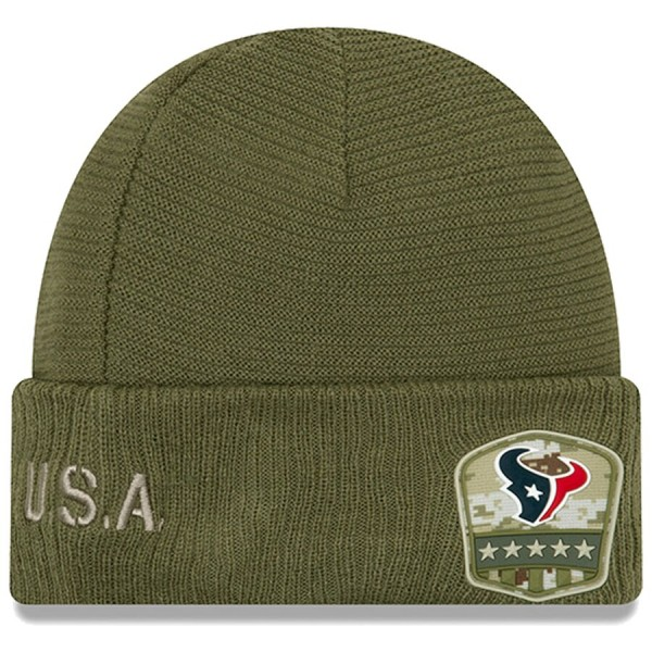 New Era OnField 19 STS Knit Hat Houston Texans
